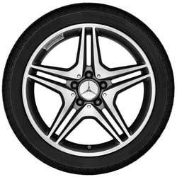 Mercedes B class W246 диски AMG R18