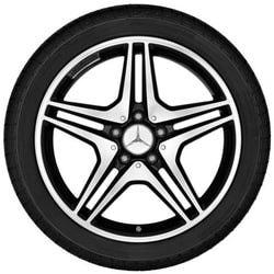 Диски AMG для Мерседес B class W246 R18