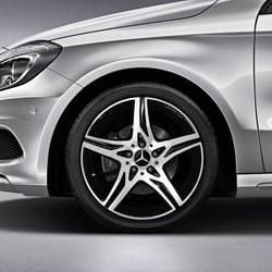 Диски AMG для Mercedes CLA C117 R18