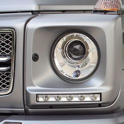 Рестайлинговые рамки фар с LED модулями для G463 G-class
