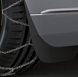 Брызговики Mercedes S-class W222 задние