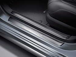 Накладки на пороги AMG без подсветки для Mercedes S W222