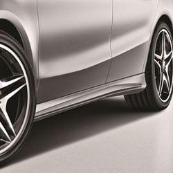 Облицовка порогов AMG для Mercedes A class W176
