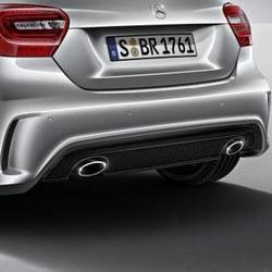Задний бампер AMG для Mercedes A class W176