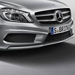 Передний бампер AMG для Mercedes A class W176