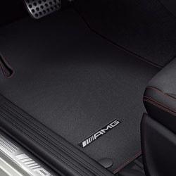 Коврики салона AMG для Mercedes A class W176