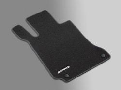 Велюровые коврики AMG для Mercedes ML class W166