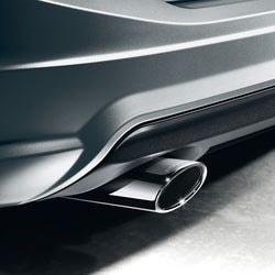 Насадка на глушитель AMG для Mercedes C class W204