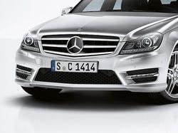 Передний бампер AMG для Mercedes C class W204