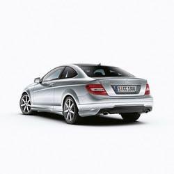 Задний бампер AMG для Mercedes C class W204