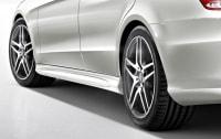 Облицовка порогов AMG для Mercedes E class W212