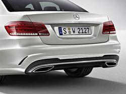 Задний бампер AMG для Mercedes E class W212