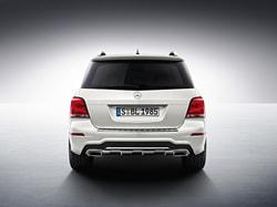 Задний бампер AMG для Mercedes GLK class X204