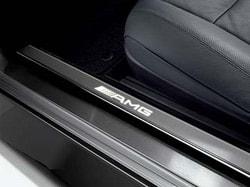 Накладки на пороги AMG для Mercedes CL class C216