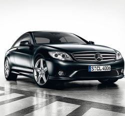 Облицовка порогов AMG для Mercedes CL class C216
