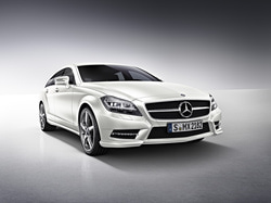 Передний бампер AMG для Mercedes CLS class C218