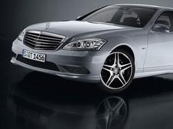 Передний бампер AMG для Mercedes S class W221