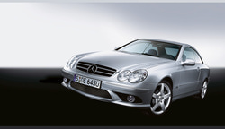 Передний бампер AMG для Mercedes CLK class C209