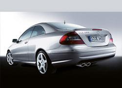 Задний бампер AMG для Mercedes CLK class C209