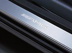 Накладки на пороги AMG для Mercedes R class W251