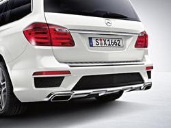 Задний бампер AMG для Mercedes GL class X166