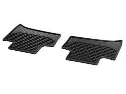 Коврики салона для Mercedes C class W205 Резиновые Черные