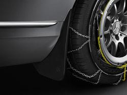 Брызговики задние для Mercedes C class W205