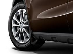 Брызговики задние для Mercedes GLA class X156