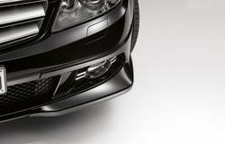 Спойлер переднего бампера для Mercedes C class W204