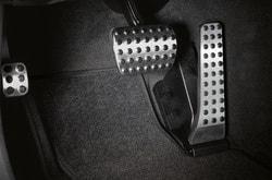 Накладки на педели для Mercedes C class W204 автомат