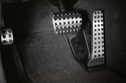 Накладки на педали для Mercedes E class C207 автомат