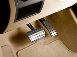 Накладки на педали для Mercedes GL class X166