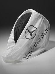 Пакет для шин белый Mercedes