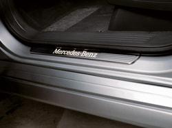 Накладки на пороги с освещением для Mercedes M class W166