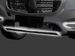 Дизайн передней обшивки со структурной поверхностью для Mercedes GLC class X253