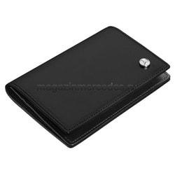 Кожаная визитница Mercedes-Benz Business Card Leather Wallet, Black