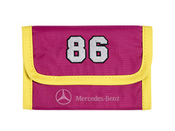 Детский кошелек Mercedes-Benz Wallet, Kids, Pink-Yellow