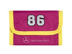 Детский кошелек Mercedes-Benz Wallet, Kids, Pink-Yellow