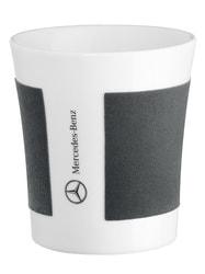 Фарфоровая кружка Mercedes Porclain Mug White Grey