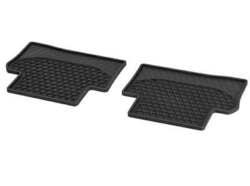 Коврики салона для Mercedes E class W213 резиновые черные