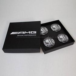 Заглушки колесного диска AMG комплект