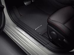Накладки на пороги AMG без освещения Mercedes CLA class X117