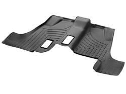 Коврики салона 3-й ряд резиновые черные для Mercedes GLS class X166