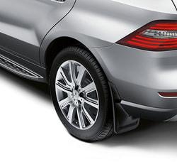 Брызговики передние с подножкой для Mercedes GLS class X166