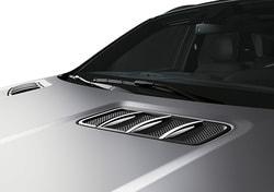 Накладки на капот Mercedes GLS class X166