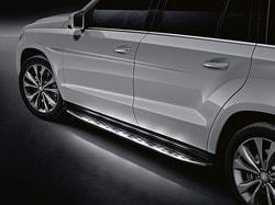 Подножки с освещением Mercedes GLS class X166