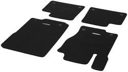 Коврики салона велюровые черные для Mercedes GLE class W166