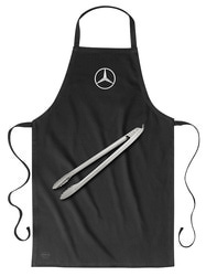 Фартук и щипцы для гриля Mercedes
