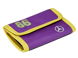 Детский кошелек Mercedes-Benz Wallet, Kids, Blue-Yellow