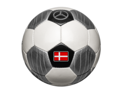 Футбольный мяч Mercedes Football Size Team Denmark